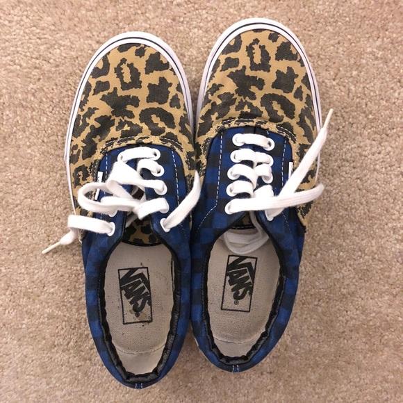 Vans Era Van Doren Leopard Checker. M 5acab755a4c485cae5421629 0aed7fae4